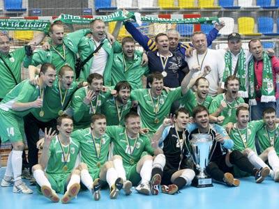 Львовский клуб третий раз подряд выиграл Кубок