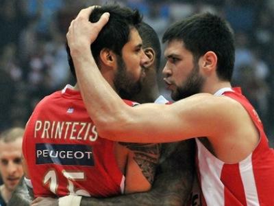 «Олимпиакос» сыграет в полуфинале Евролиги с ЦСКА