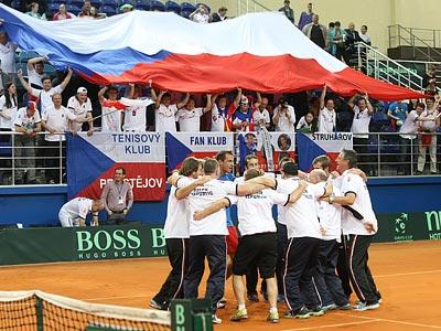 Чехия возглавила рейтинг-лист Кубка Дэвиса