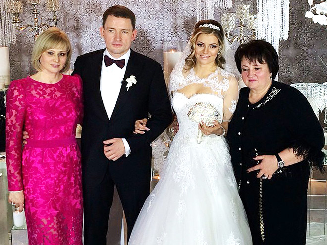 Фотоотчёт о замужестве Марии Кириленко