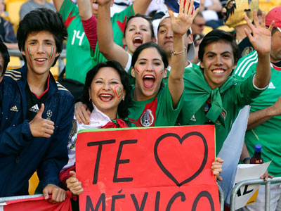 Мексиканцы уже давно не пропускают мундиали