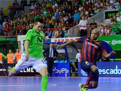 Третий тур чемпионата Испании по мини-футболу