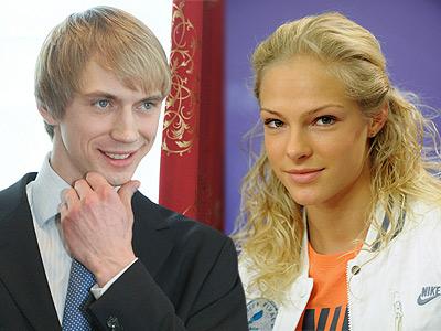 Андрей Сильнов и Дарья Клишина