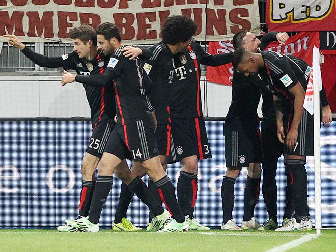 «Бавария» выиграла у «Майнца» на 90-й минуте