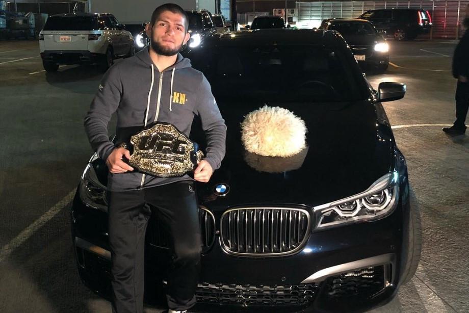 Хабиб вызывает Мейвезера-младшего и общается с 50 Cent о переходе в Bellator