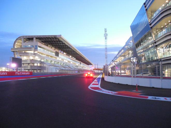 До начала Гран-при России Формулы-1 – два дня