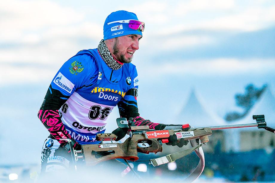 Биатлон, чемпионат России, масс-старт: Логинов и Гараничев не смогли выигра