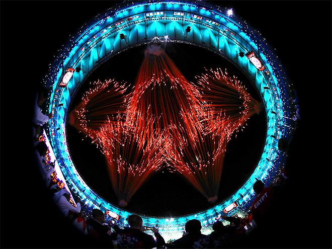 Фото церемонии открытия Рио-2016