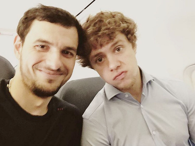 Артём Анисимов и Артемий Панарин