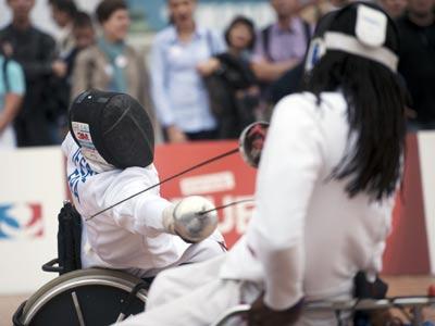Елена Белкина – о фехтовании на Паралимпийских играх