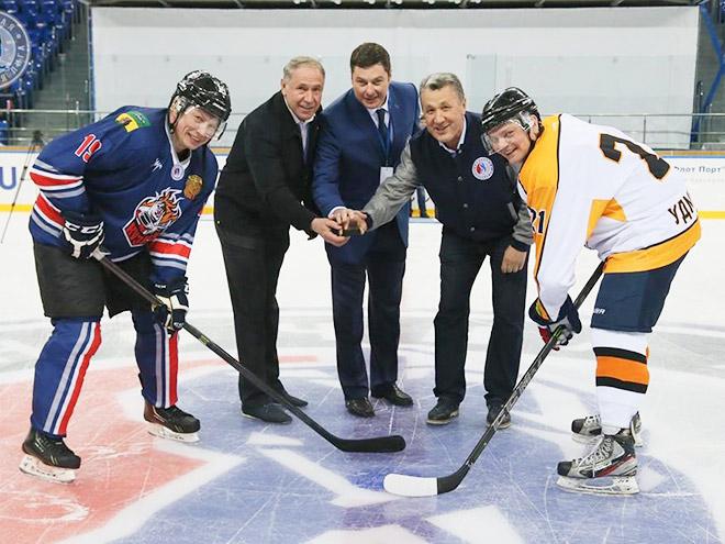 В Сочи открылся пятый фестиваль Ночной хоккейной лиги