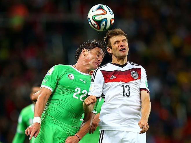 ЧМ-2014. Германия против Алжира
