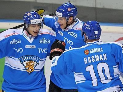 Сборная Финляндии выиграла у шведов – 3:1