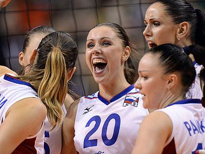 Женская сборная России — чемпионы Европы