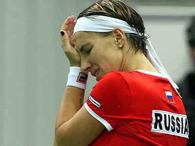 Fed Cup. Провальный старт сборной России