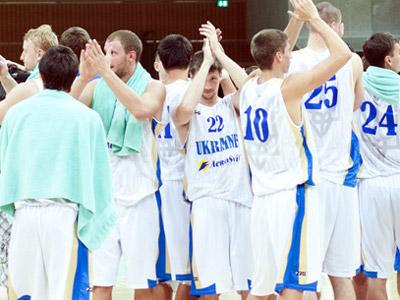 Команда Украины выиграла второй матч на турнире в Южном