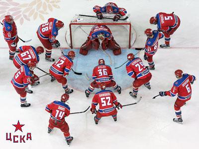 Итоги сезона КХЛ. ЦСКА (Москва)
