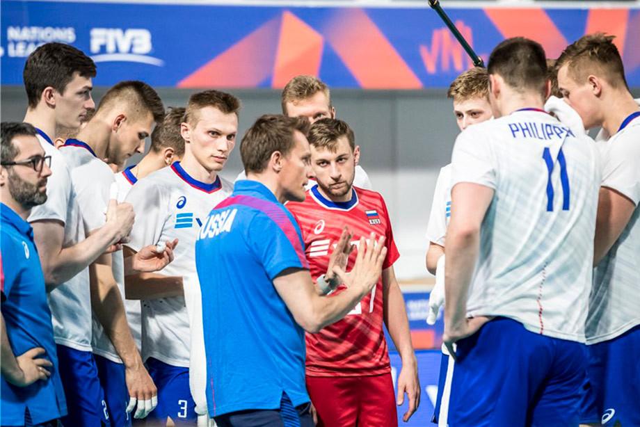 11 июля Россия начнёт борьбу в «Финале шести» волейбольной Лиги наций