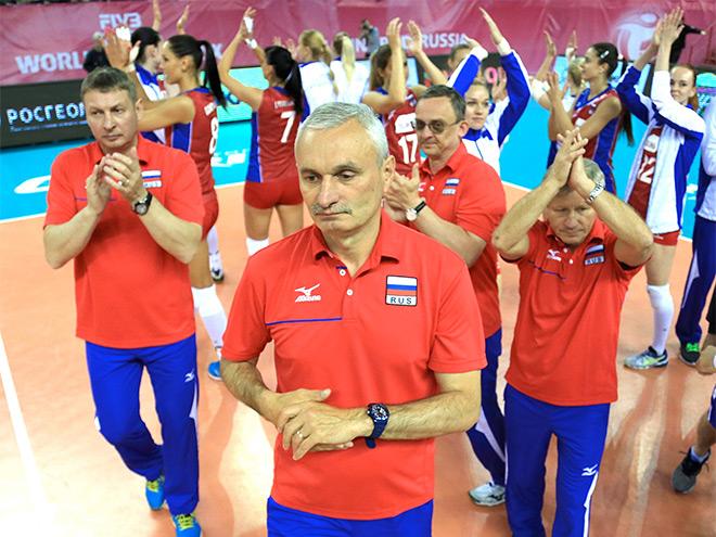 Сборная России выиграла и второй матч Гран-при