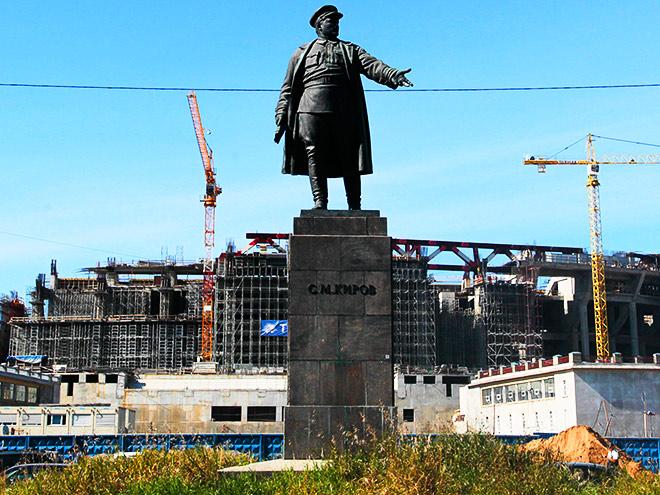"""Строящийся стадион """"Зенита"""""""