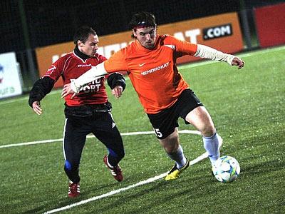 Состоялся 2-й тур чемпионата Корпоративной футбольной лиги