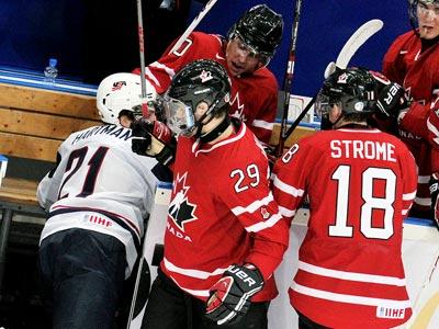 Сборная Канады выиграла у США – 2:1