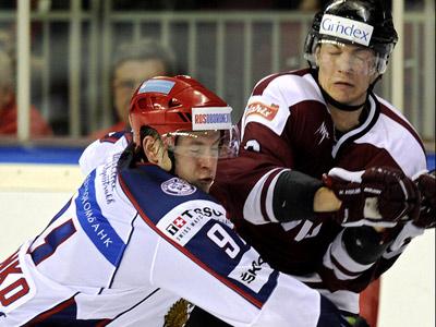 Для сборных Латвии и России чемпионат мира начнётся с очного поединка