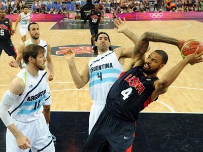 Олимпиада-2012. Баскетбол. США — Аргентина