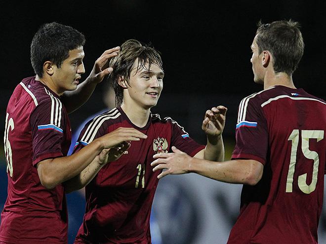 Россия U21 — Андорра U21 — 5:0