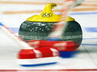 Олимпиада в Сочи. Щётка для кёрлинга