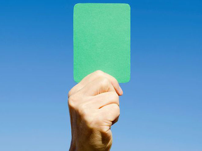 Зелёная карточка