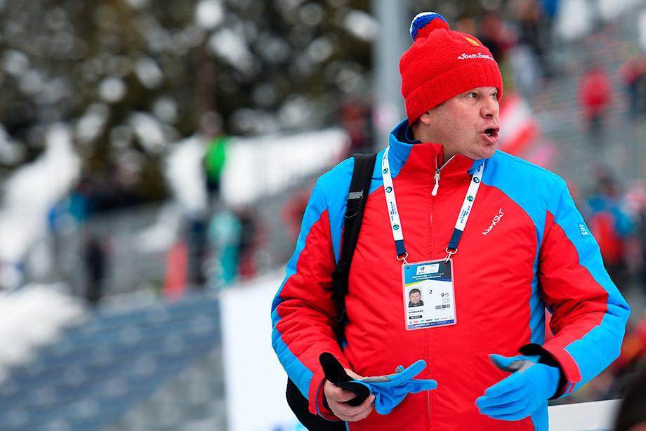 Вяльбе высказалась поповоду работы Губерниева наЧМ полыжным гонкам