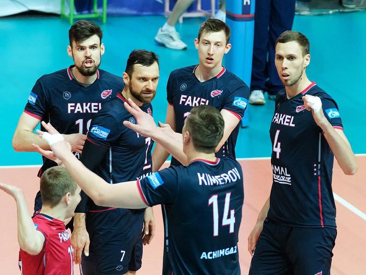Новосибирский «Локомотив» завоевал бронзу чемпионата РФ поволейболу