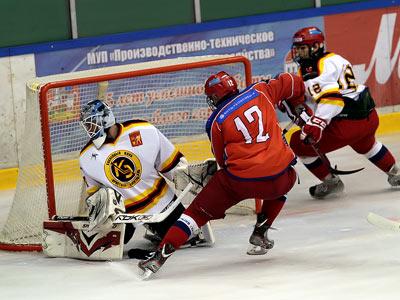 Товарищеский матч юниорской сборной в Электростали