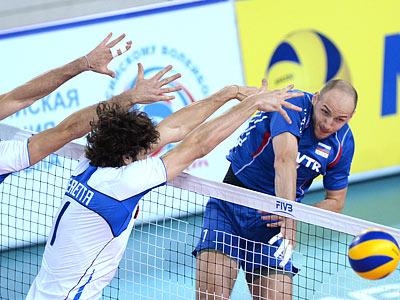Россия выиграла у Италии в Мировой лиге - 3:2