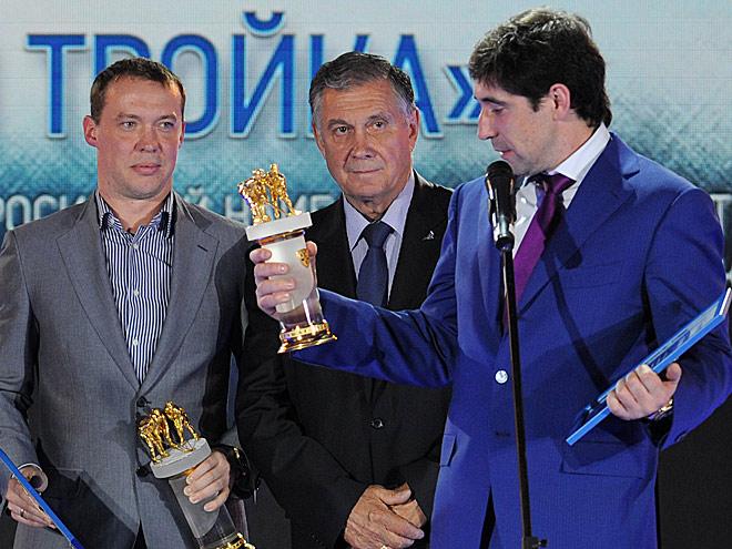 Сергей Мозякин, Станислав Петухов, Данис Зарипов