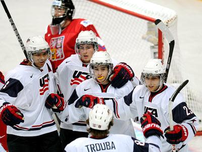 Сборная США обыграла Чехию – 7:0