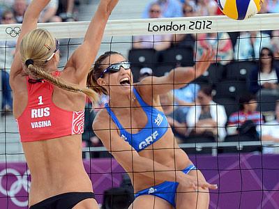 Лондон 2012. Пляжный волейбол. Не наш день
