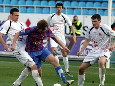 Луцкая «Волынь» вышла в полуфинал Кубка Украины