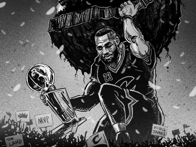 «Кливленд» впервые в своей истории стал чемпионом НБА