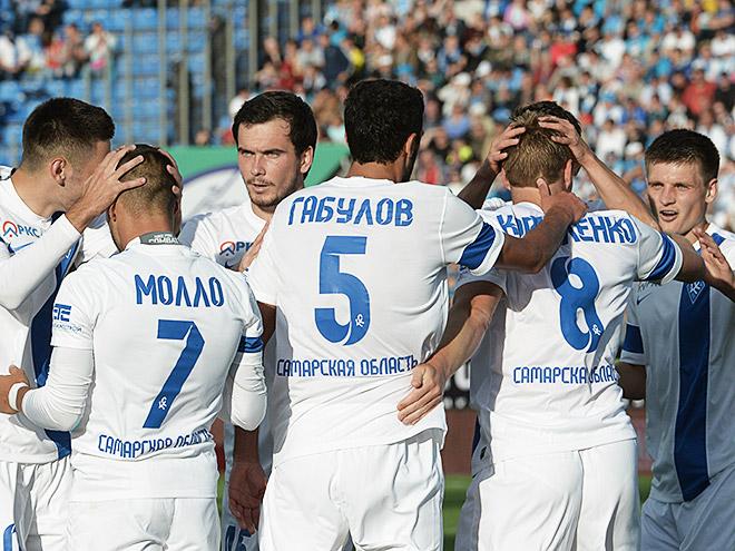 Футболисты ФК «Крылья Советов»