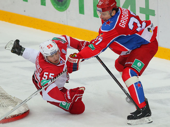 ЦСКА обыграл «Витязь»