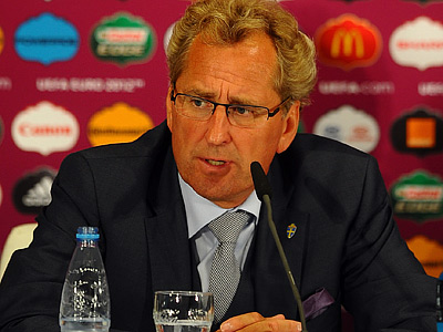 Пресс-конференция Эрика Хамрена перед матчем с Англией