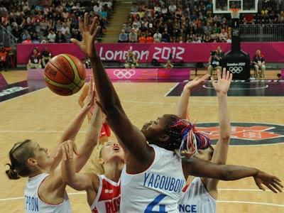Лондон 2012. Баскетбол. Франция — Россия