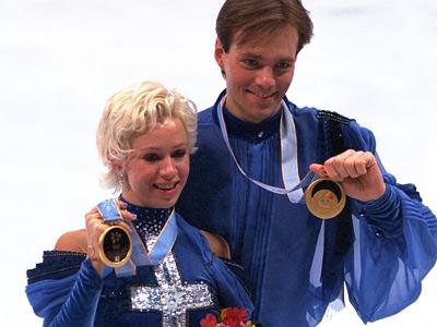 Оксана Грищук и Евгений Платов