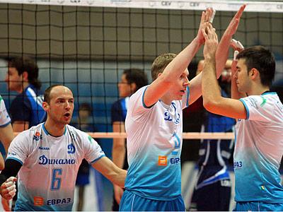 «Динамо» (Москва) оформило выход в полуфинал ЧР