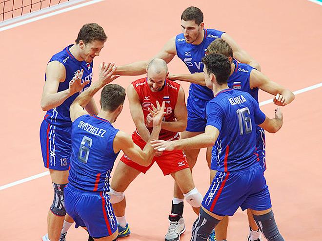 Сборная России обыграла словаков на ЧЕ по волейболу