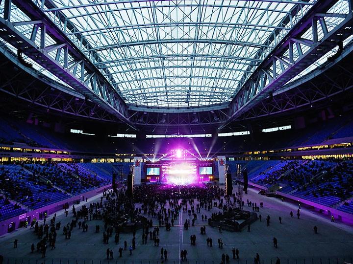 """Музыкальный фестиваль «Фестиваль """"Радио Зенит"""" пройдёт нановом стадионе вПетербурге»"""