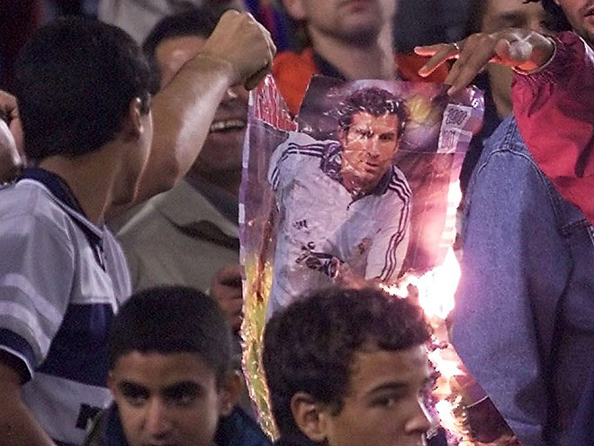 Акции фанатской ненависти против футболистов