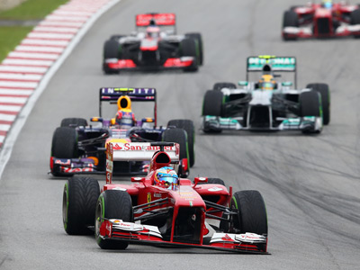 Анализ выступления команд Формулы-1 в Малайзии